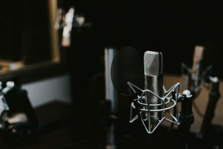 Mikrofon hos Lydstudiet.com